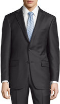 Hickey Freeman Milburn II Solid Two-Piece Suit, Black