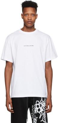 Liam Hodges White Supply Artwork T-Shirt
