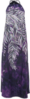 Tome Printed Cotton Halter Dress