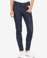 Lauren Ralph Lauren Premier Printed Skinny Jeans