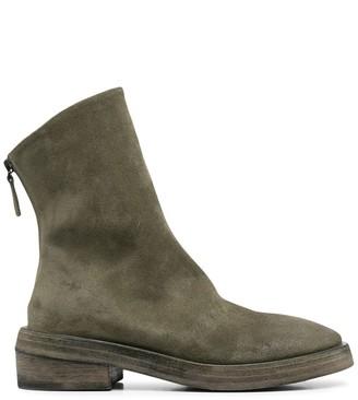 Marsèll Textured Rear Zip Boots