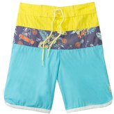 Tiger Joe Boys' Skeleton Island Retro Boardie Shorts (6mos10yrs) - 8120330