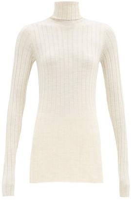 Petar Petrov Karen Roll-neck Merino-wool Sweater - Cream