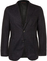 Barena - Navy Slim-fit Unstructured Wool-blend Blazer