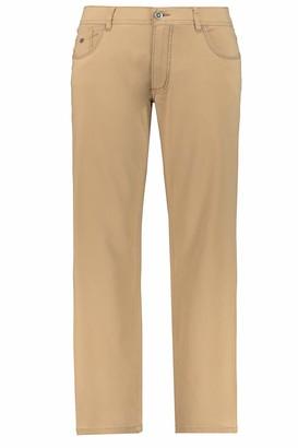 JP 1880 Men's Big & Tall 5-Pocket Colored Stretch Jeans Dark Navy 68 717157 76-68