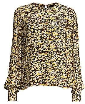 Stine Goya Women's Karolina Floral Silk Blouse