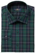 Club Room Men's Classic/Regular Fit MacLeod Tartan Dress Shirt, Created for Macy's