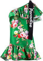 Brognano - single shoulder floral dress - women - Viscose/polyester - 42