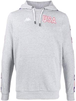 Kappa USA logo hoodie