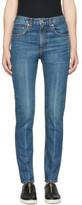 Rag & Bone Blue High-rise Skinny Jeans