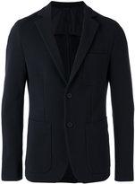 HUGO BOSS button up blazer - men - Cotton/Polyamide/Polyester/Spandex/Elastane - 48