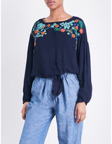 Free People Up and Away woven top