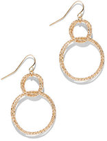 New York & Co. Double-Circle Drop Earring