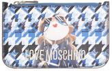 Love Moschino Bustina Digital Print Pouch