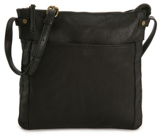 American Leather Co. Evansville Leather Crossbody Bag
