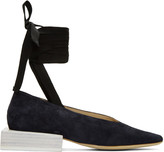 Jacquemus Navy 'Les Chaussures Lacées' Loafers