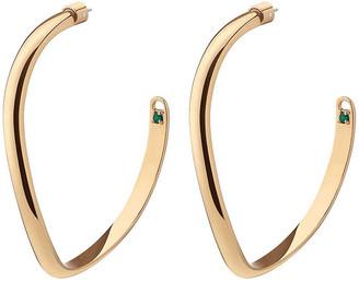 DEMARSON Mini Calypso Curve Hoop Earrings
