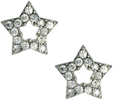 Oasis Pave Stud Earrings