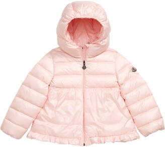 Moncler Odile Hooded Water Resistant Down Jacket