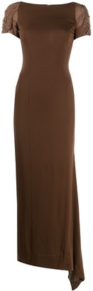 Gianfranco Ferré Pre-Owned 1990s Embellished Shoulder Dress