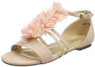 Lotus Women's Elise Ankle Strap Heels, Pink (Pink), 40 EU
