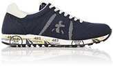 Premiata MEN'S LUCY LOW-TOP SNEAKERS-NAVY SIZE 6 M