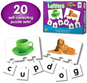 The Learning Journey Match It- Letters