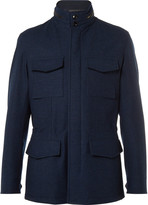 Ermenegildo Zegna - Water-resistant Trofeo Wool And Cashmere-blend Jacket