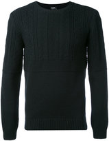 A.P.C. long sleeve ribbed jumper - men - Wool - S