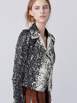 Diane von Furstenberg Joneva Leather Jacket