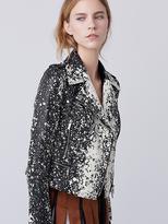 Diane von Furstenberg Joneva Leather Jacket
