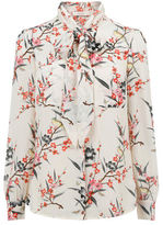 """Oasis FAR EASTERN BLOUSE [span class=""""variation_color_heading""""]- Multi Natural[/span]"""