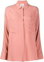 Semi-Couture Semicouture Gabrielle concealed button shirt