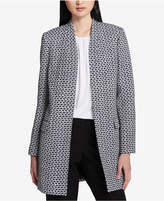 Calvin Klein Boucle Tweed Topper Jacket, Regular & Petite