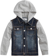 Epic Threads Hooded Denim Jacket, Toddler Boys (2T-5T), Created for Macy's