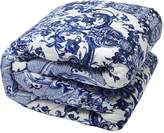 Roberto Cavalli Azuleyos Printed Throw Blanket