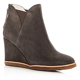 Bettye Muller Women's Whiz Suede Wedge Booties