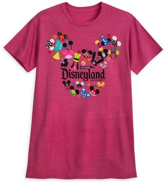 Disney Ear Hat Collage T-Shirt for Adults Disneyland