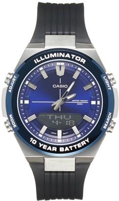 Casio Men's Illuminator Stainless Steel Watch - AMW860-2AV