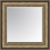 Asstd National Brand Leighton Bead Inset Beveled Wall Mirror