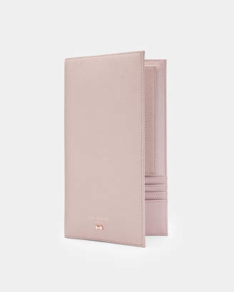 Ted Baker DIMONA Bow detail leather travel wallet