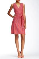 Julie Brown V-Neck Wrap Dress