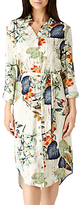 Sugarhill Boutique Reva Palm Print Shirt Dress, Multi
