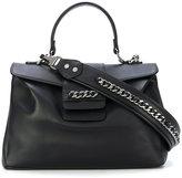 Casadei chain embellished shoulder bag