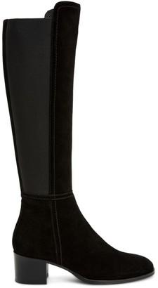 Aquatalia Nova Suede Heeled Boots