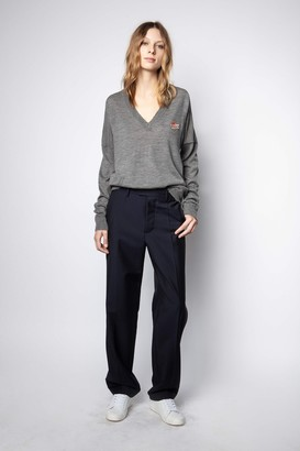 Zadig & Voltaire Brume Love Ribbon Sweater
