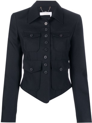 Chloé Military Fitted Jacket