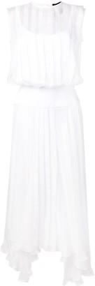 Irina Schrotter asymmetric flared dress