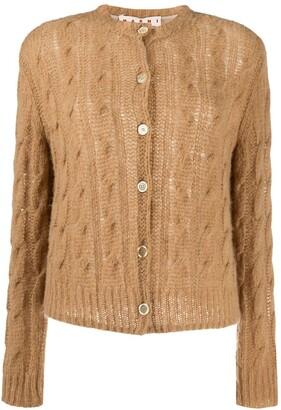 Marni Open Knit Cardigan