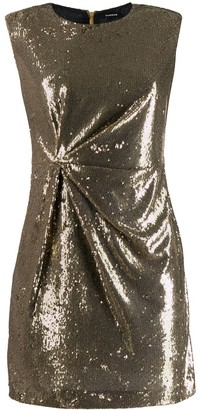 P.A.R.O.S.H. Sequinned Mini Dress